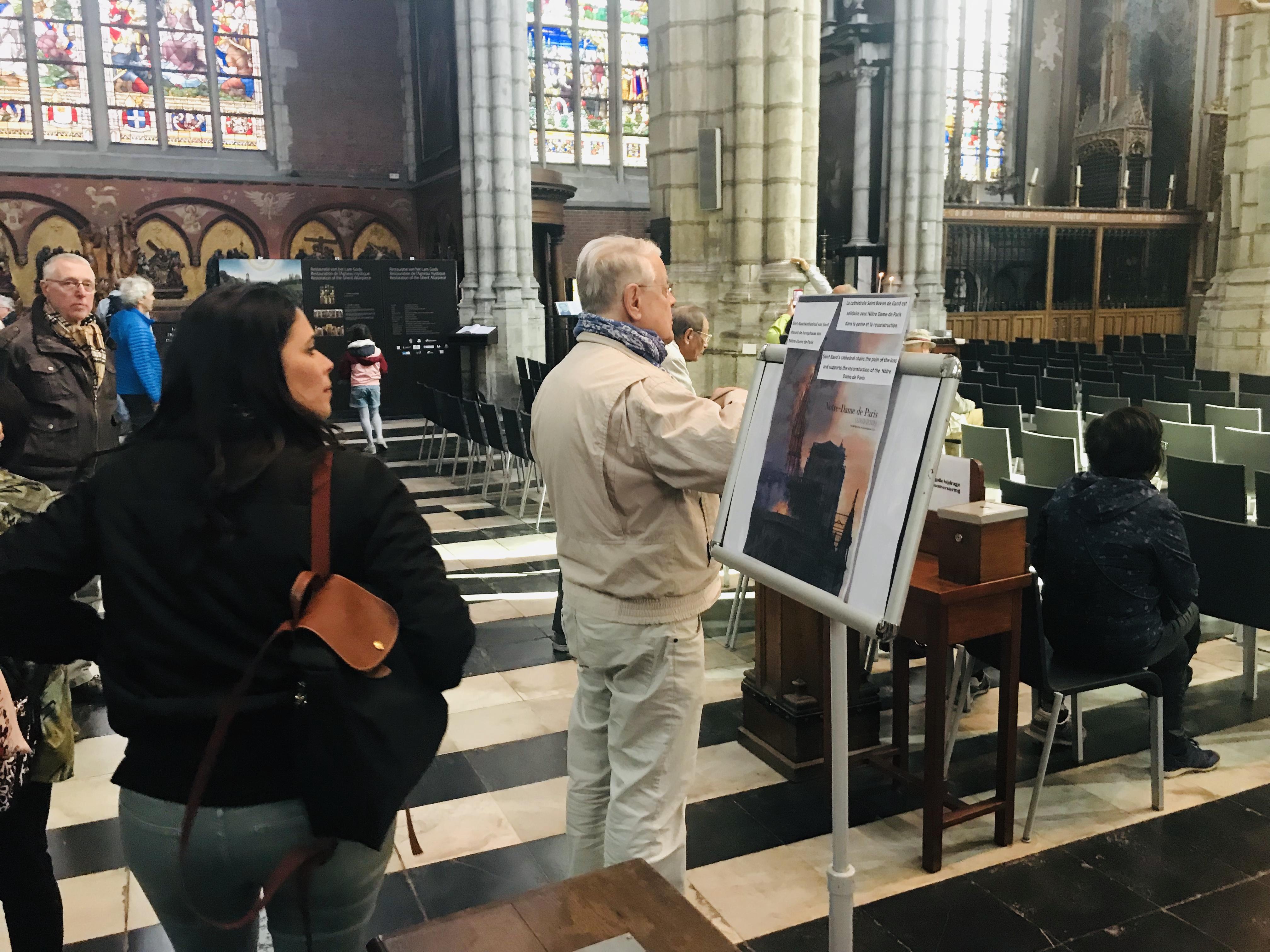 Oproep tot solidariteit met Notre Dame © Bisdom Gent