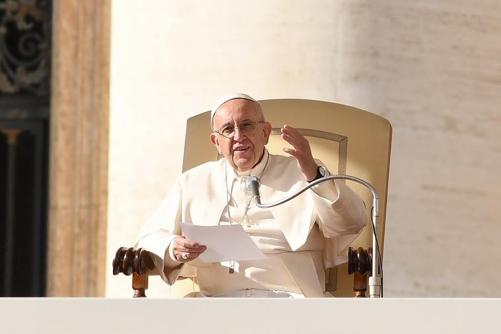 Paus Franciscus tijdens consistorie © SIR