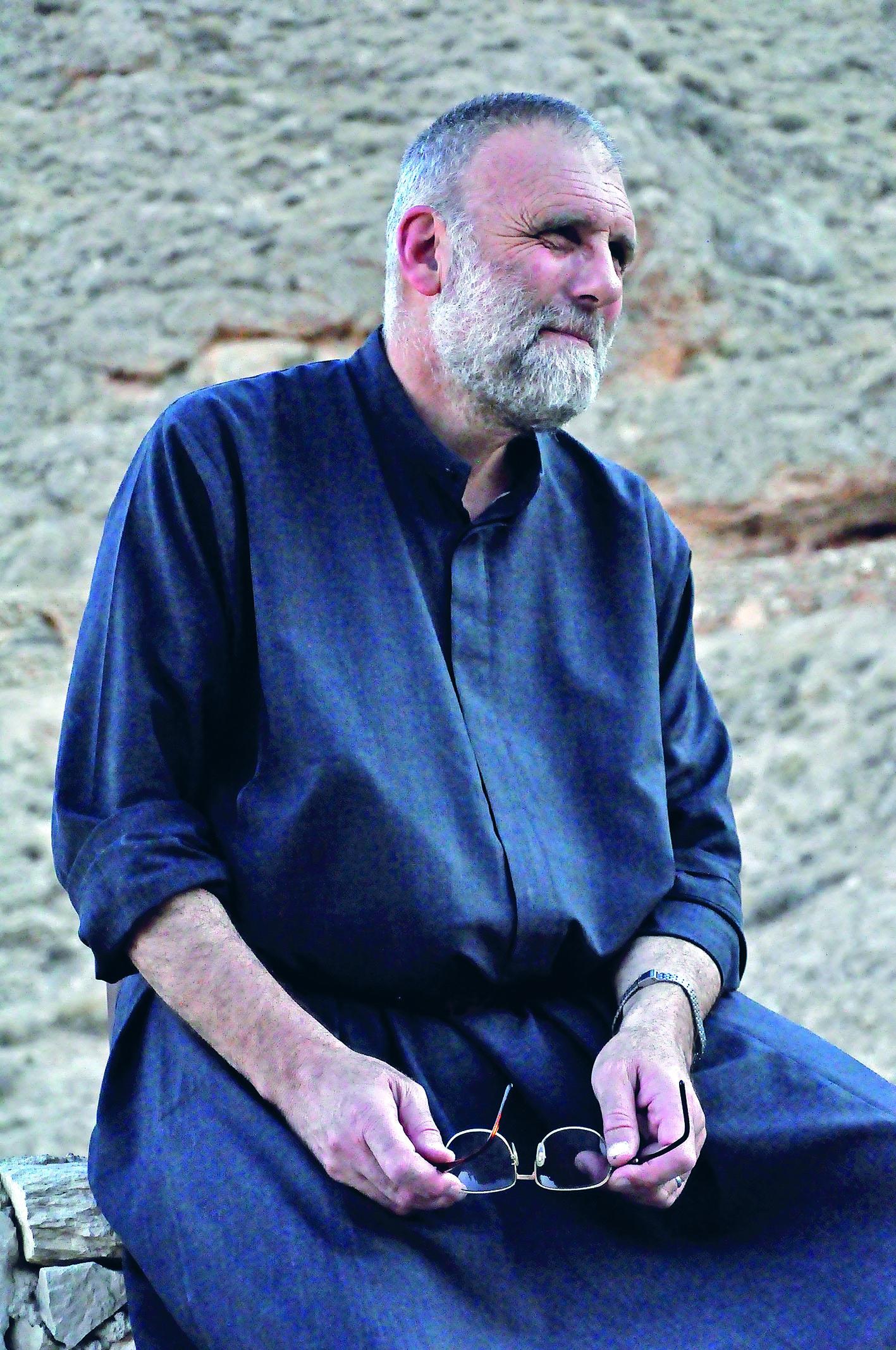 Paolo Dall'Oglio raakte in juli 2013 terwijl hij bemiddelde in Syrië. © G.Poulet
