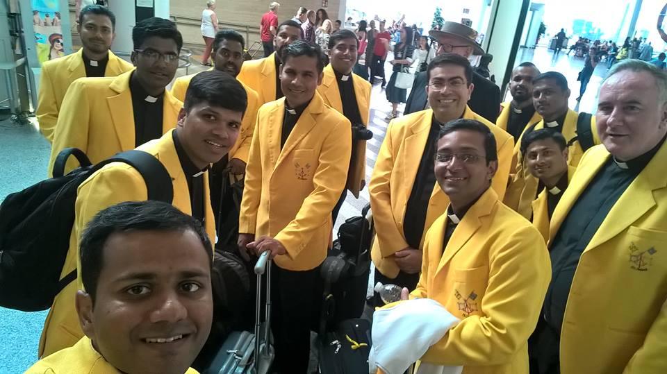Het cricketteam van het Vaticaan © www.facebook.com/vaticancricketclub