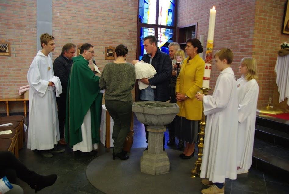 Doop in een eucharistieviering