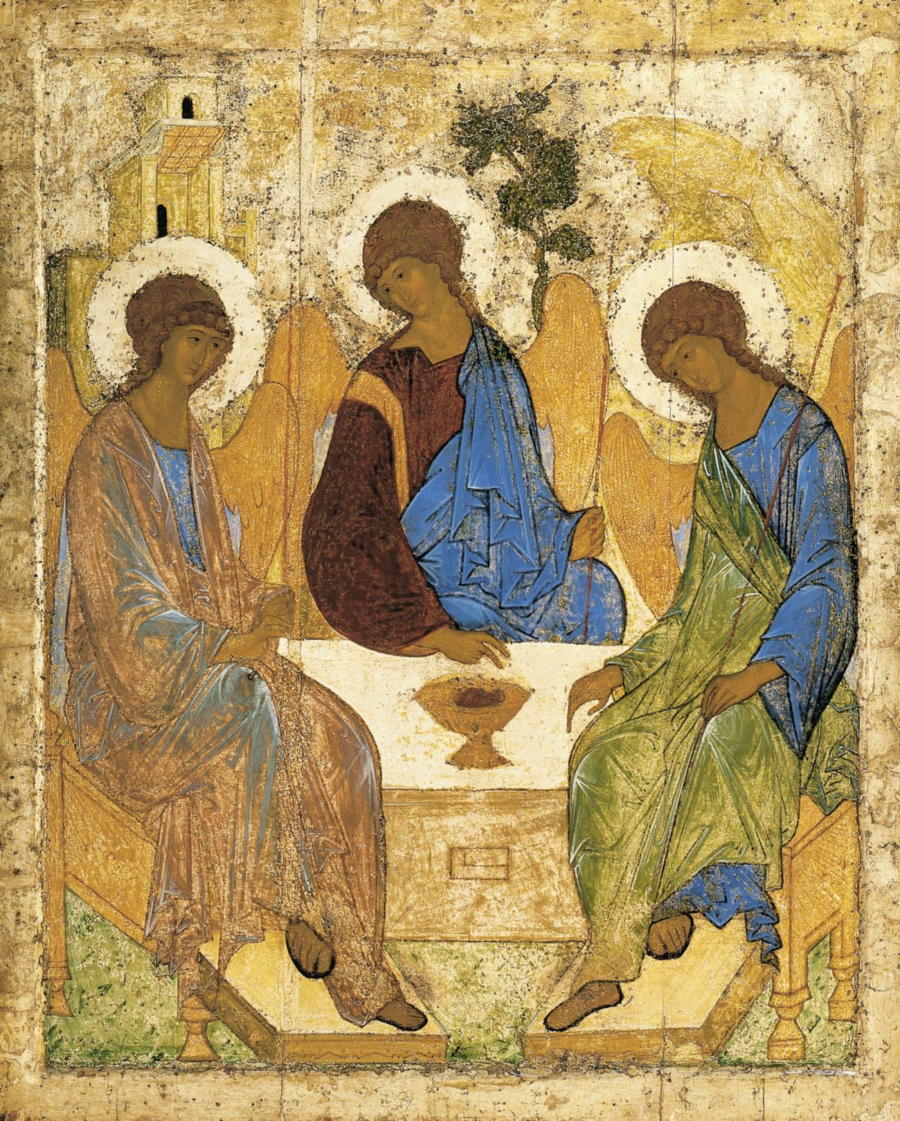 Andrej Roebljov, de heilige Drie-eenheid © Wikicommons