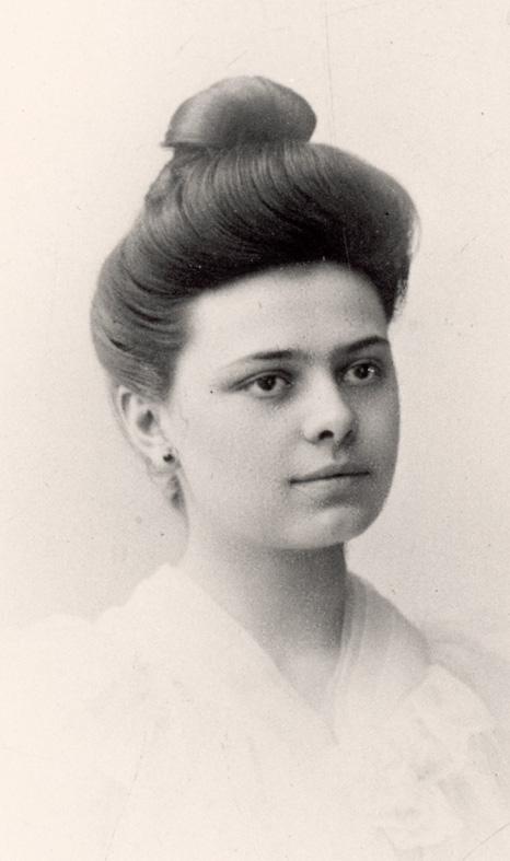 Elisabeth van de Drie-eenheid Catez, 20 jaar, voor haar intrede © Wikimedia Commons