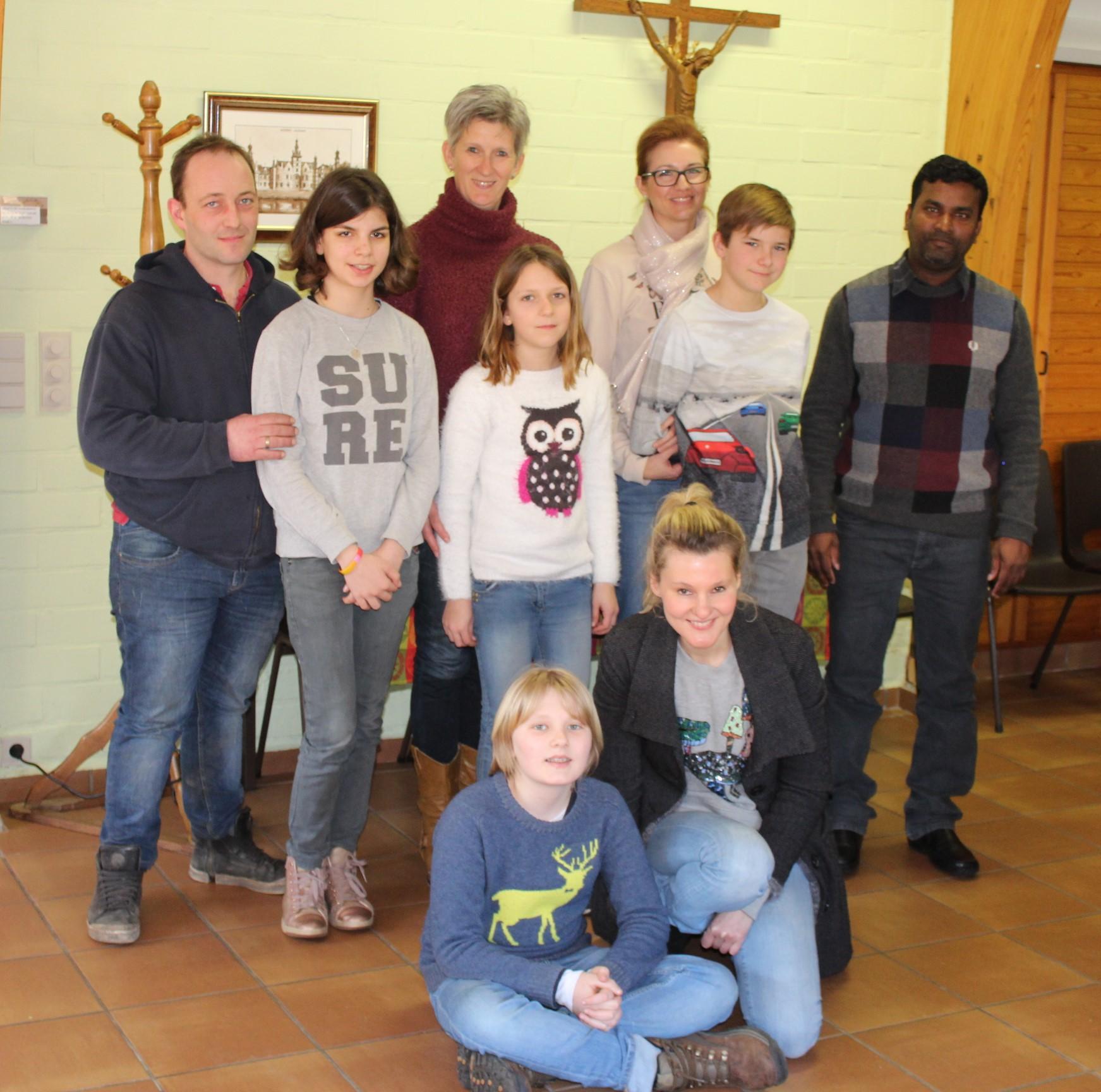 cool project: vormelingen maken kennis met Pater David