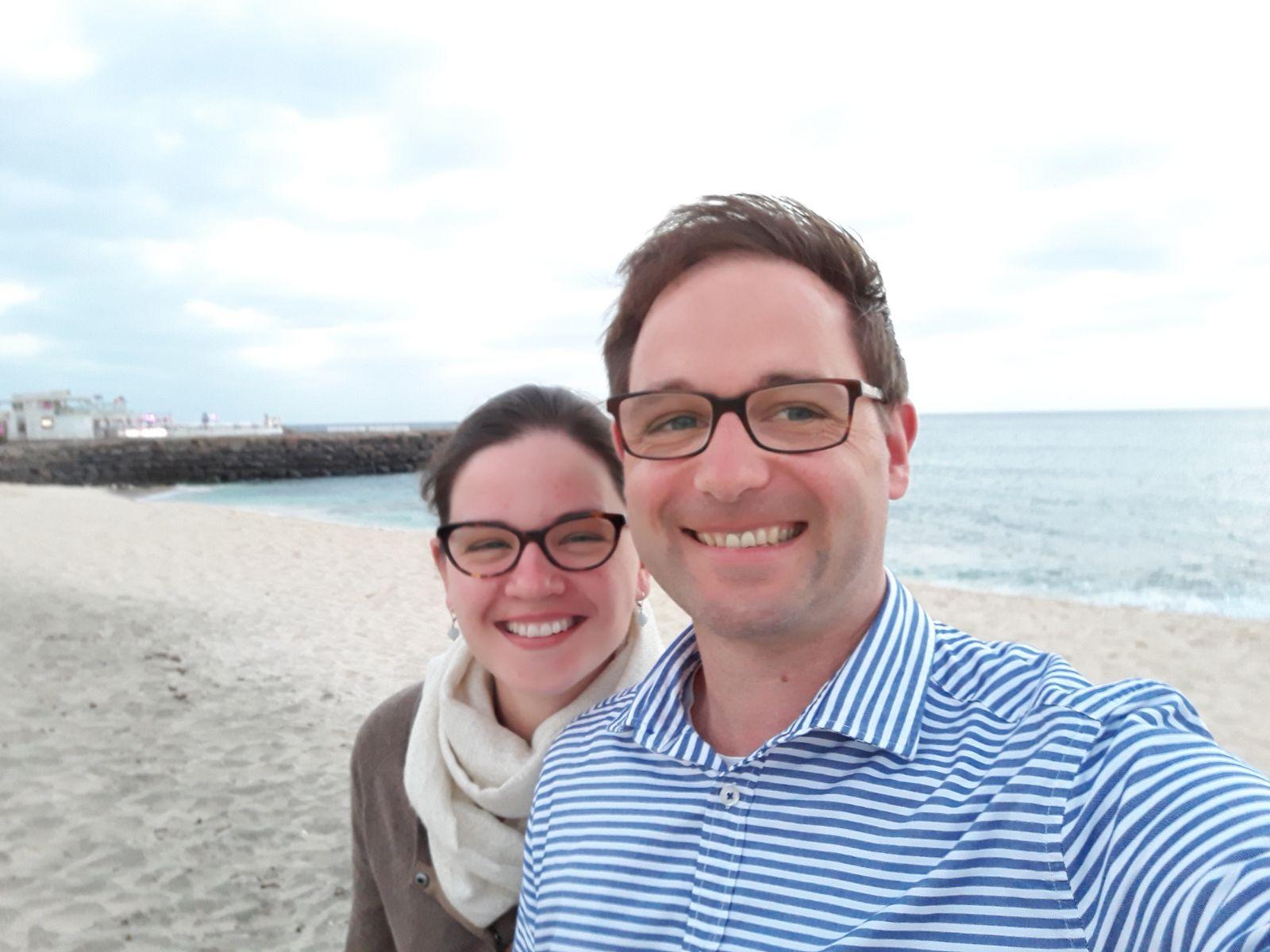 Filip en Magdalena Grauls helpen mee in de huwelijksvoorbereiding in federatie Landen. © Grauls