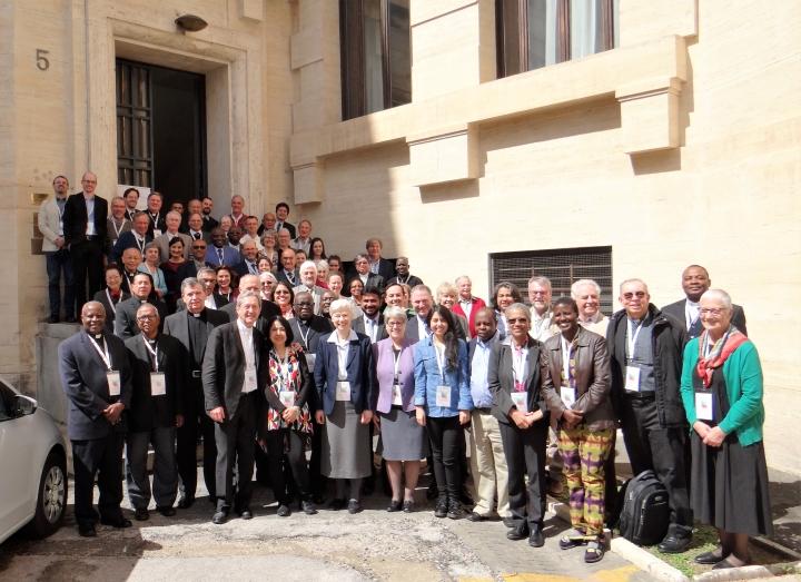 De deelnemers van de workshop over geweldloosheid © Pax Christi International