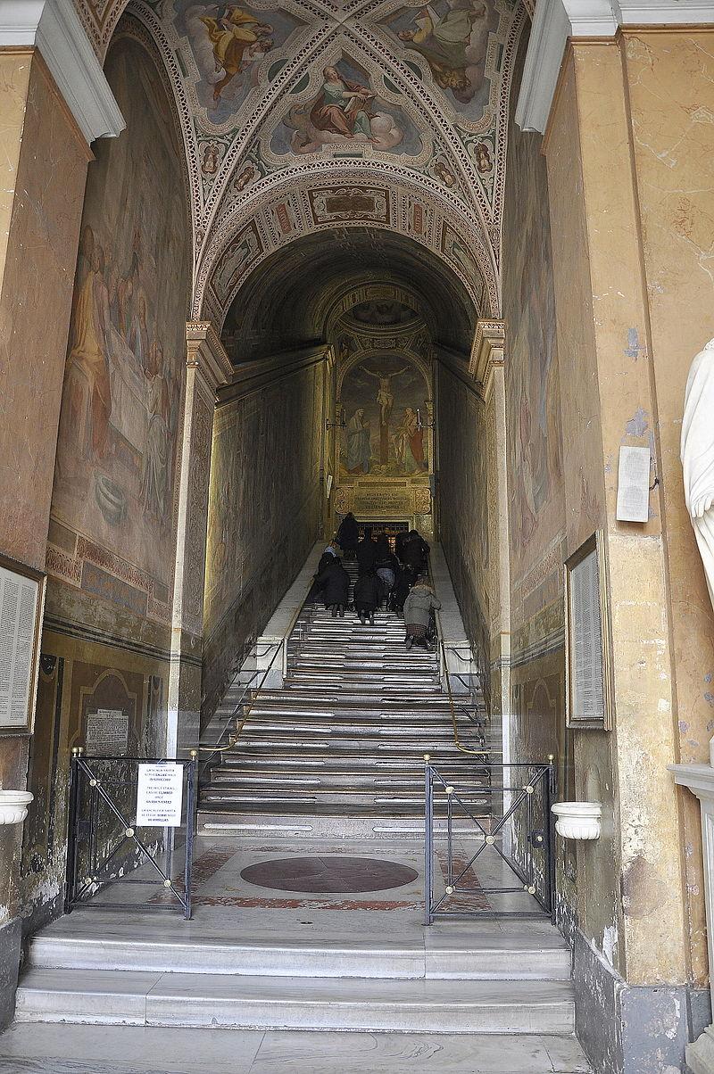 De Scala Sancta in Rome © Wikipedia
