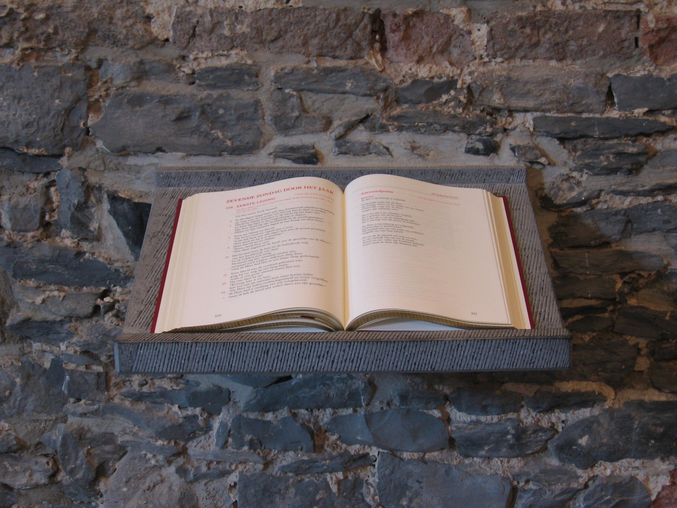Crypte Seminariehuis Gent - lectionarium©J. Polfliet