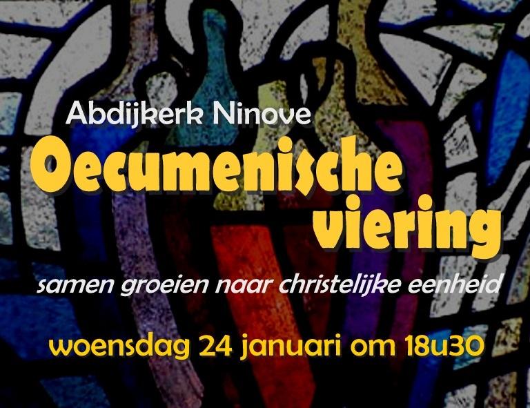 Oecumenische viering © Kerk in Ninove