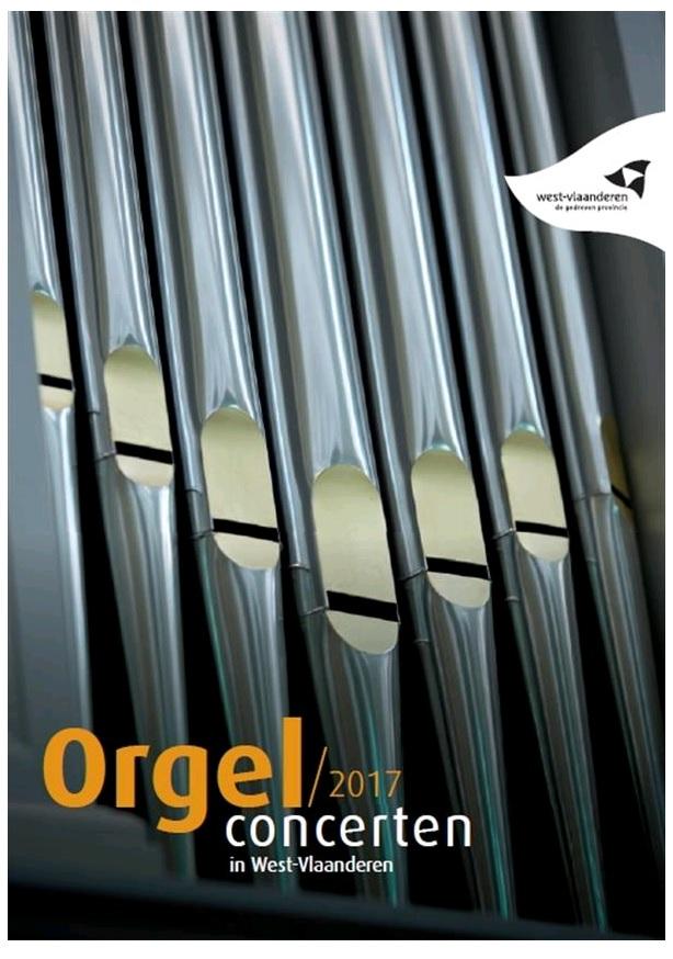 orgelconcerten West-Vlaanderen 2017