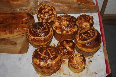 Russisch paasbrood © Wikimedia