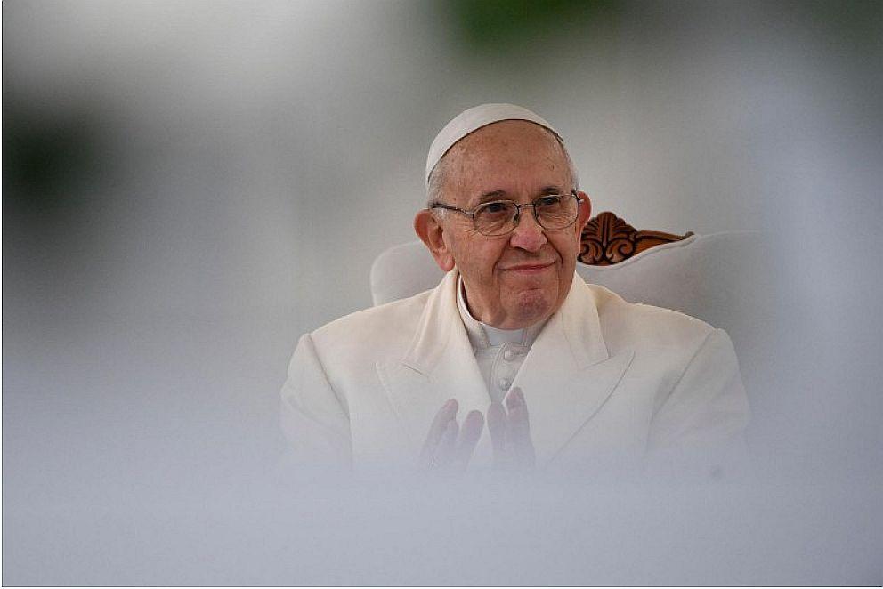 Paus Franciscus tijdens zijn bezoek aan Litouwen © Vaticaan Media