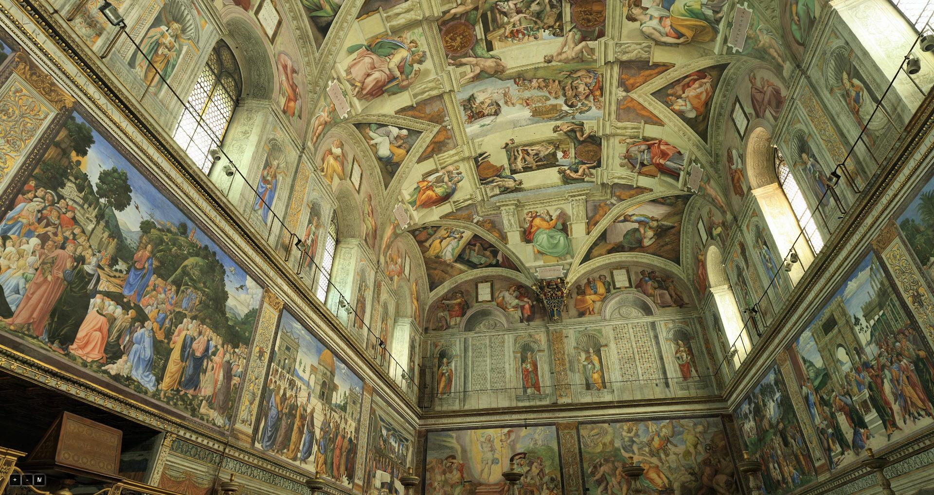 Sixtijnse Kapel 360° © Vaticaan