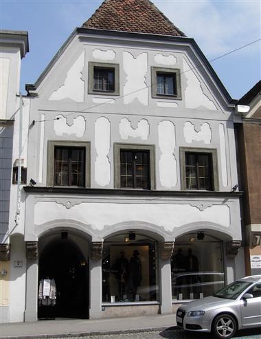 In dit huis in Steyr werd Stille Nacht voor het eerst gedrukt © Stille Nacht Gesellschaf