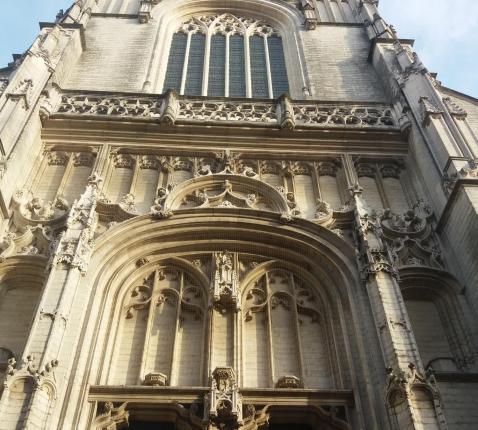 Voorgevel Sint-Pauluskerk Antwerpen Nosestraat © Sint-Pauluskerk Antwerpen