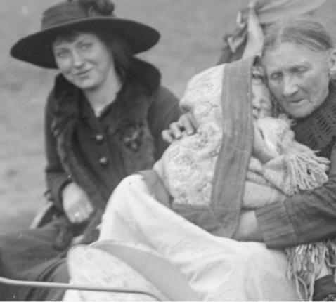 100 jaar vluchten © Landelijke Gilden