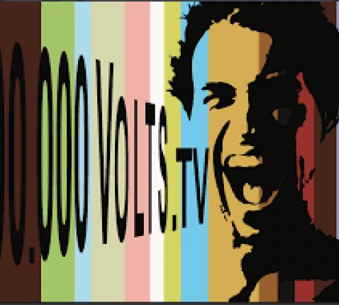 Logo 100.000 Volts TV © 100.000 Volts TV