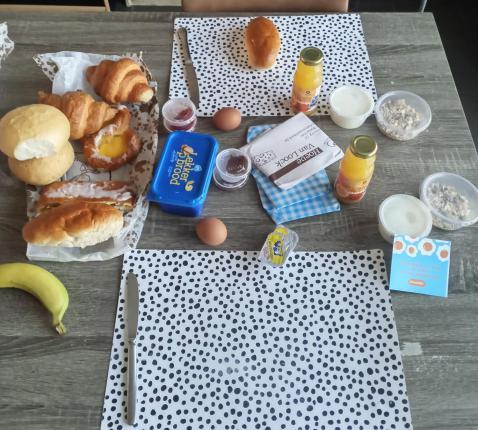 Chiro-ontbijt © Viviane Van Thielen