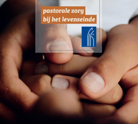 De cover van de nieuwe brochure van de bisschoppen van België over pastorale zorg bij het levenseinde © IPID