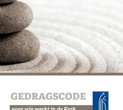 De cover van de pas verschenen brochure 'Gedragscode voor wie werkt in de Kerk © IPID