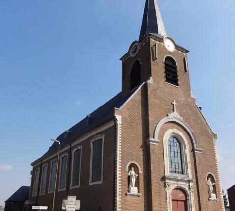 Sint-Petrus en Pauluskerk Geetbets © Mapio.net