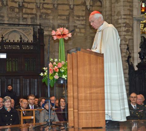Kardinaal De Kesel © Hellen Mardaga/KerkNet