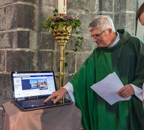 parochie in deinze op facebook