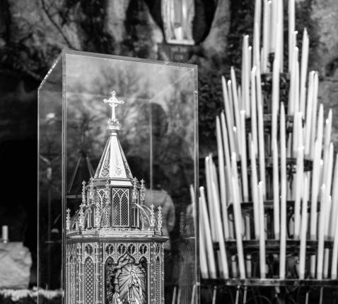 stopzetting rondgang relieken H. Bernadette in België en Nederland © Sanctuaire Notre-Dame de Lourdes/Vincent Pierre