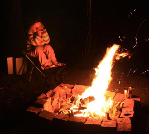 Mag er nog vuur zijn?  © Barney Moss