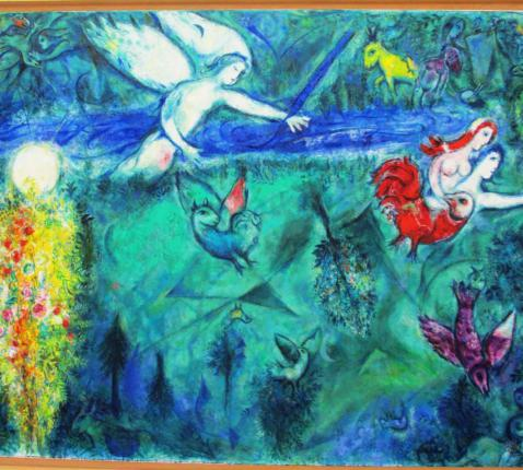 Eden - Marc Chagall © publieke afbeelding
