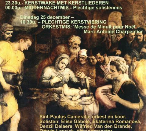 Kerstmis2018 in de Sint-Pauluskerk Antwerpen © Sint-Paulusparochie