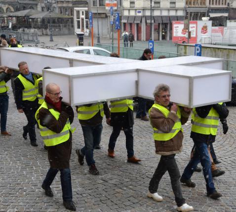 Passiekruis in Mechelen © Jeroen Moens