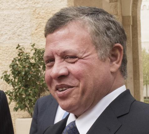 De Jordaanse koning Abdoellah II bin al-Hoessein © Mark Garten/Persdienst UN