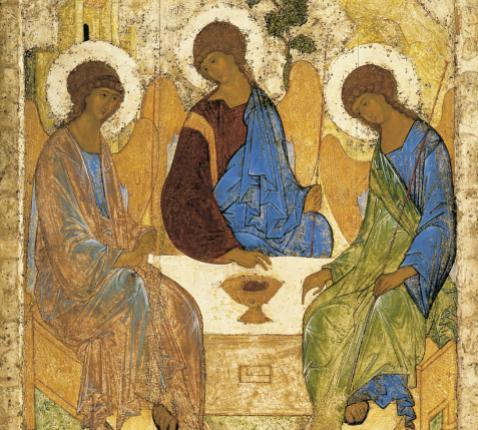 Icoon Heilige Drievuldigheid © Wikimedia