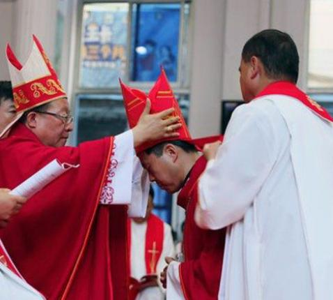 Bisschop Anthony Li Hui  © Vatican Media