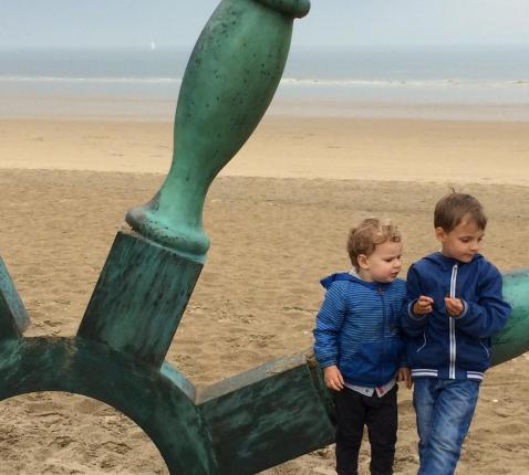 Broederlijk van vakantie genieten © blog Audrey&driekerels