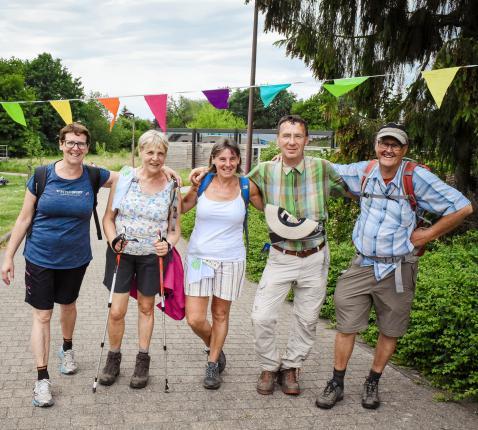 wandelaars © parochie in Assenede-Evergem-Zelzate