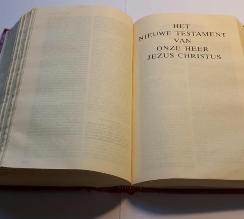 de Bijbel © Eric Haelvoet