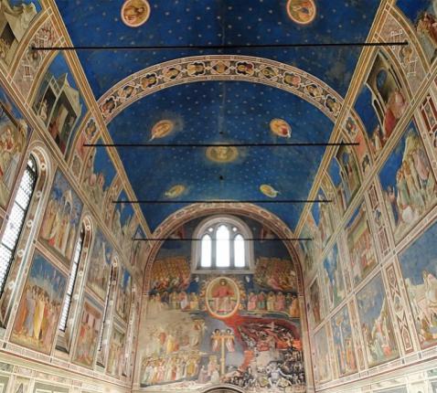 De Cappella degli Scrovegni in Padua © Wikipedia