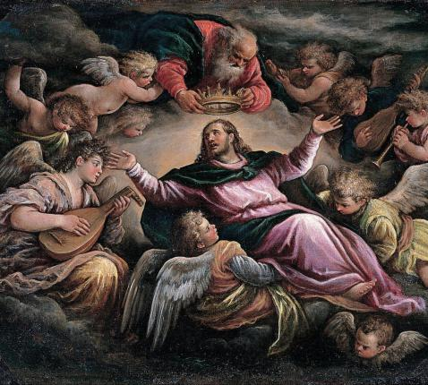 Christ in Glory - Francesco_Bassano_the_Younger - Google Cultural Institute © wikimedia commons