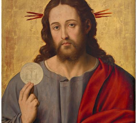 Christus en de Eucharistie  © Juan de Juanes (16de eeuw), Museo del Prado