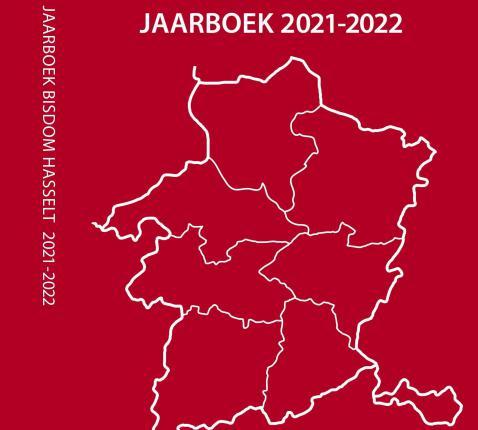 Cover jaarboek 2021-2022 © Bisdom Hasselt