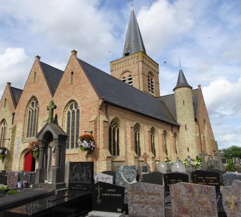 kerk Westhoek © Mia Verbanck