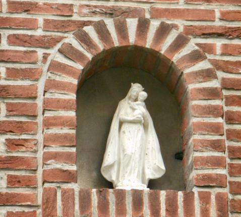 Mariabeeld, Groenenhoek Berchem © JM Houben