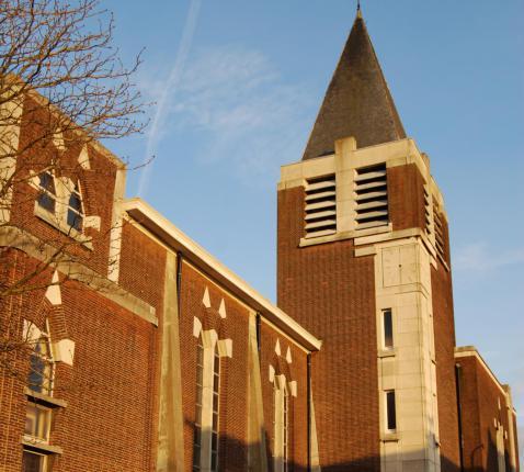 De kerk van St.-Jan Evangelist © JvR