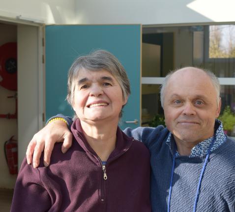 Annie en Frank zijn 25 jaar bewoner van De Ark in Moerkerke © Jan Demuynck
