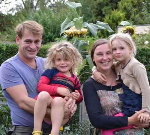Bert en zijn gezin © Geert Defauw