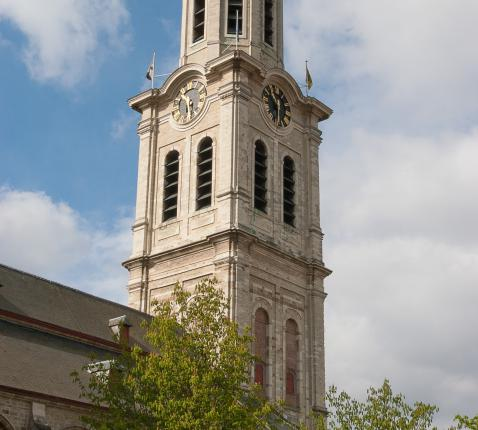 De Sint-Laurentiuskerk (Lokeren) © Stad Lokeren