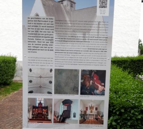 Infoborden Open kerken