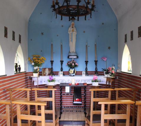 Een van de Breugelse kapellekes © Parochie Kleine-Brogel